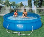 Bestway 12ft x 30 Inch Fast Set Garden Pool